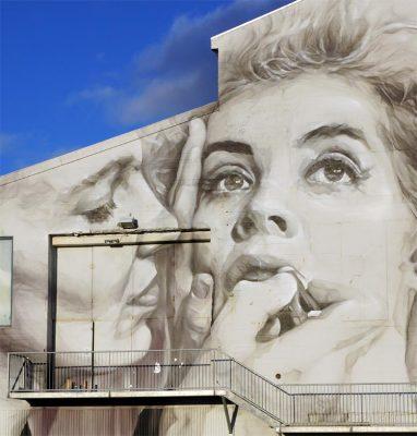 Kunst am Gebäude, Reykjavík.