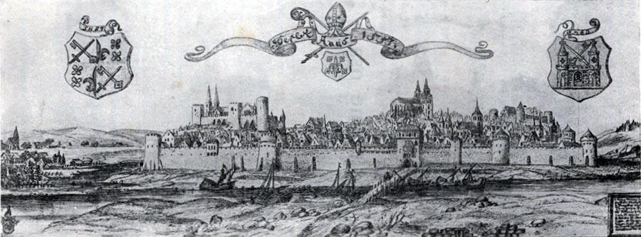 Dorpat (Tartu) um 1533