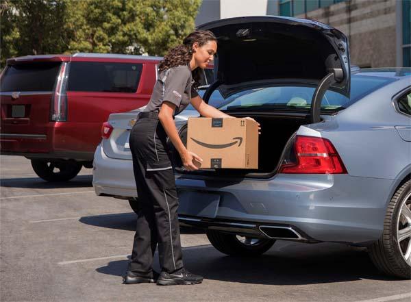Volvo kooperiert mit Amazon – Pakete direkt ins Auto