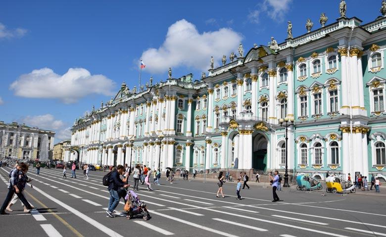 Palastplatz St. Petersburg