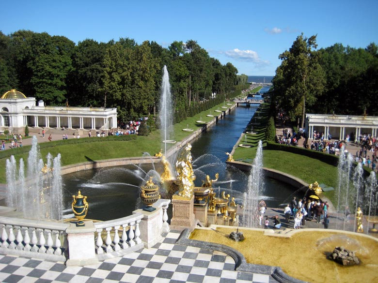 Städtereise: Stadtführung Peterhof