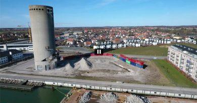 Sprengung in Dänemark geht schief