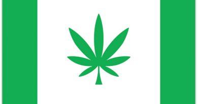 Hanfblatt Flagge Cannabis Kanepi
