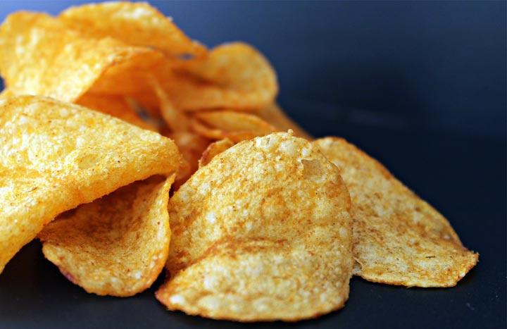 Irische Erfindung Kartoffelchips mit Geschmack