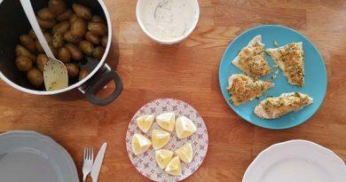 Rezept Kabeljau mit Dillkartoffeln