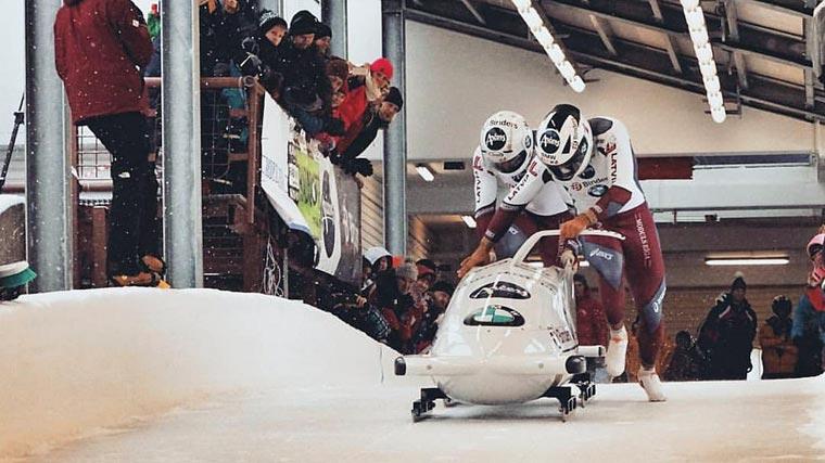 Olympische Winterspiele Sigulda