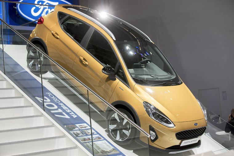 Ford Fiesta Active at the Frankfurt Motor Show