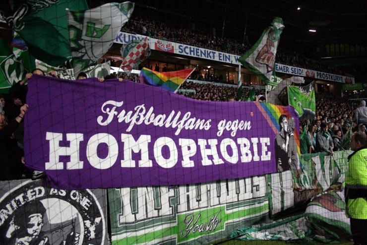 Fußballfans gegen Homophobie