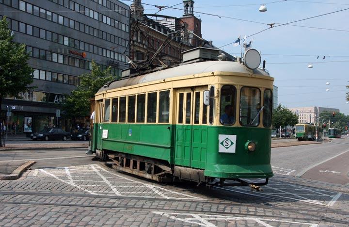 Straßenbahn wird verschenkt