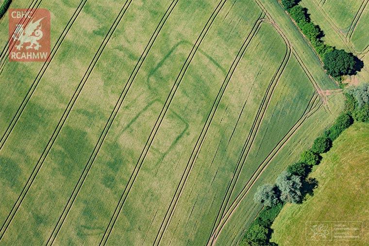 Prähistorische Farm Wales