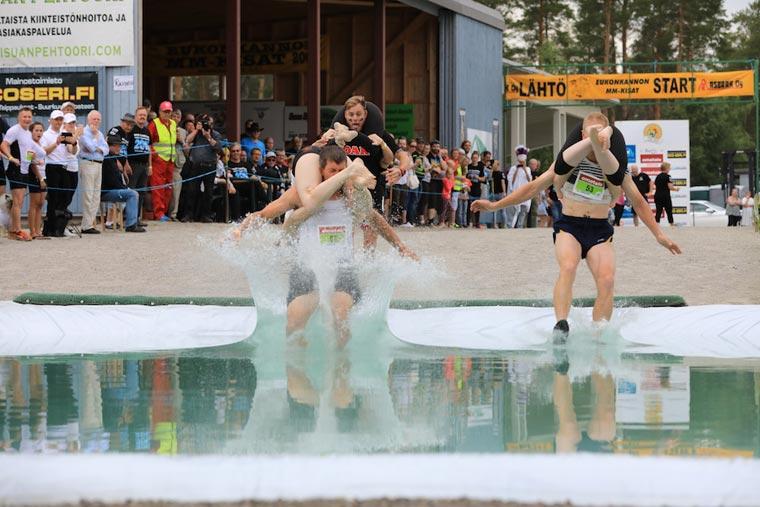 Wasserhindernis Frauentragen