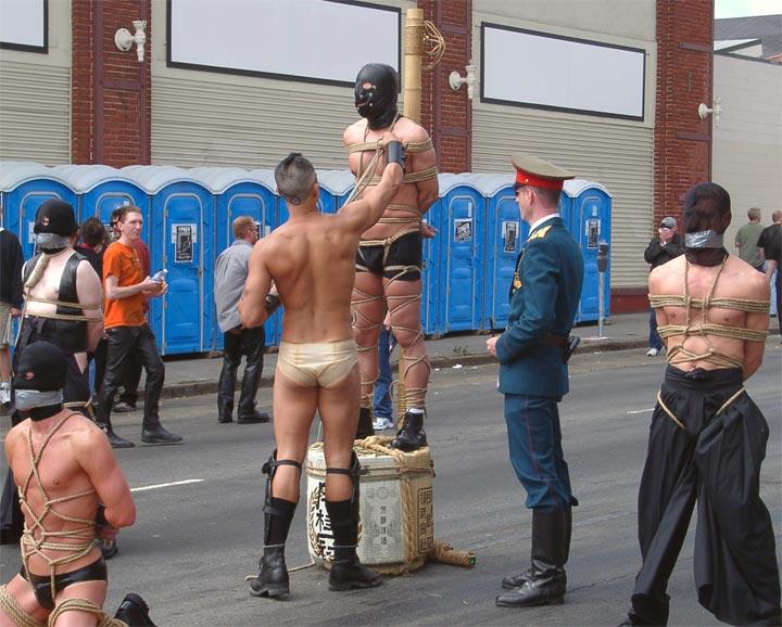 Einladung zu BDSM-Party Island