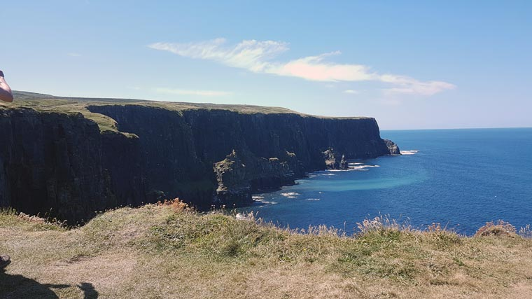 Cliffs of Moher Reisebericht Irland
