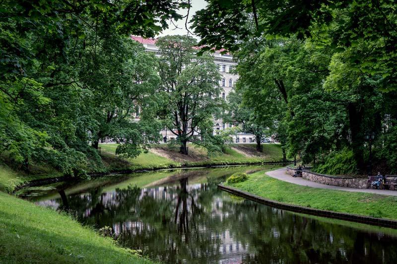 Kanal Riga Sehenswürdigkeiten