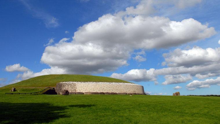 Reisebericht Irland Newgrange Hügelgrab Irland