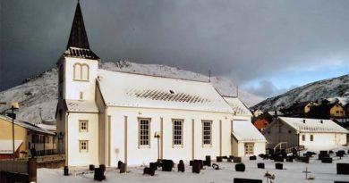 Touristen Nordkapp