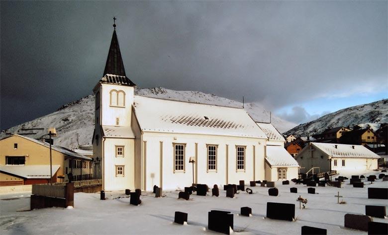 Kirche Honningsvåg