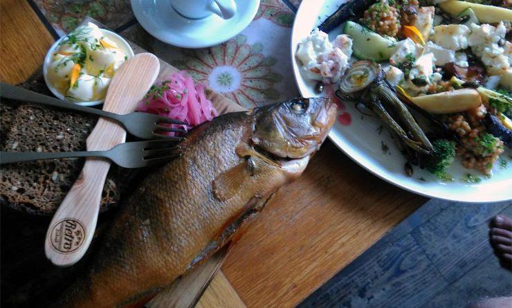 Fischgericht im Kohvik Retro 2016