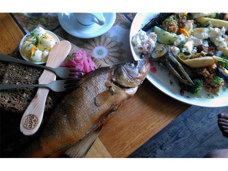 Fischgericht im Kohvik Retro 2017