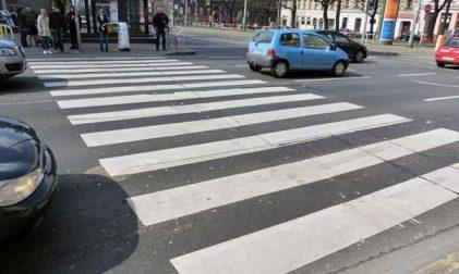 Litauen Fußgänger Sicherheit im Straßenverkehr