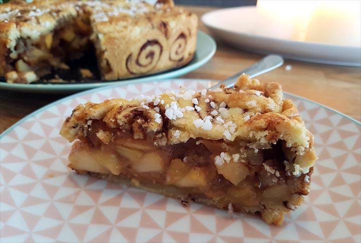 Apple pie Zimtschnecken Rezept Apfelkuchen