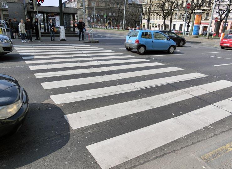 Fußgängerüberweg Litauen