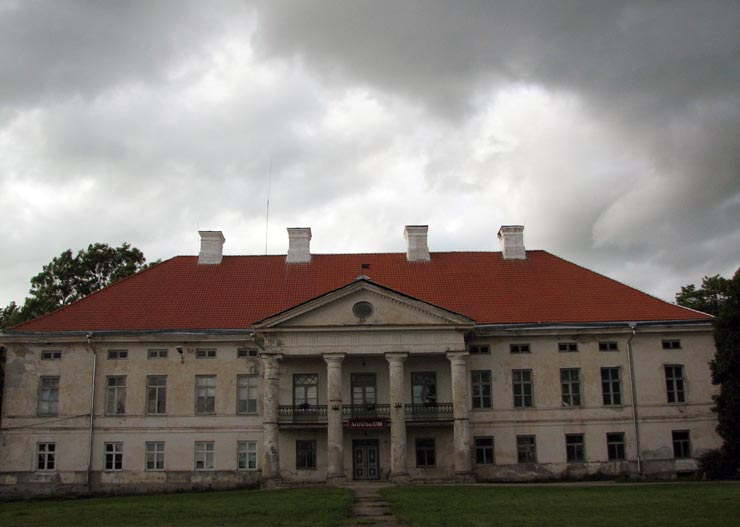 Herrenhaus Lihula Fahrradtour