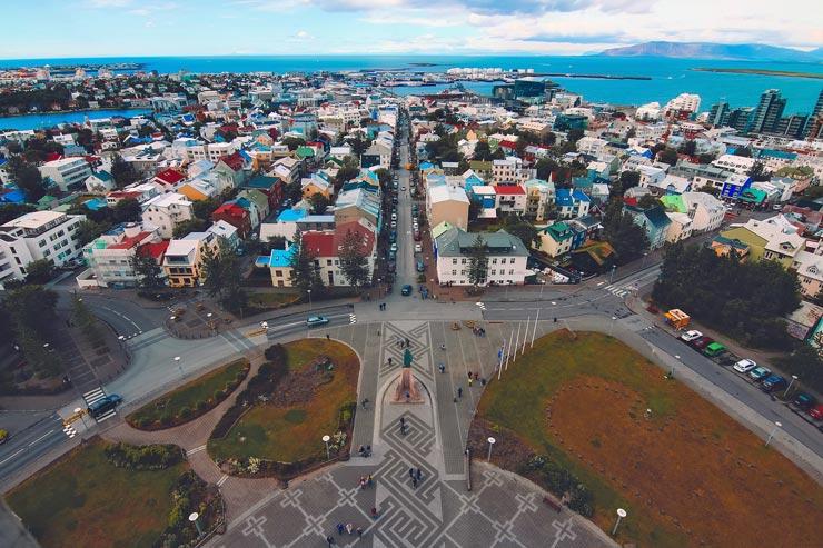 Island Reykjavík Statistik