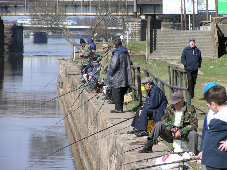 Angler in Riga