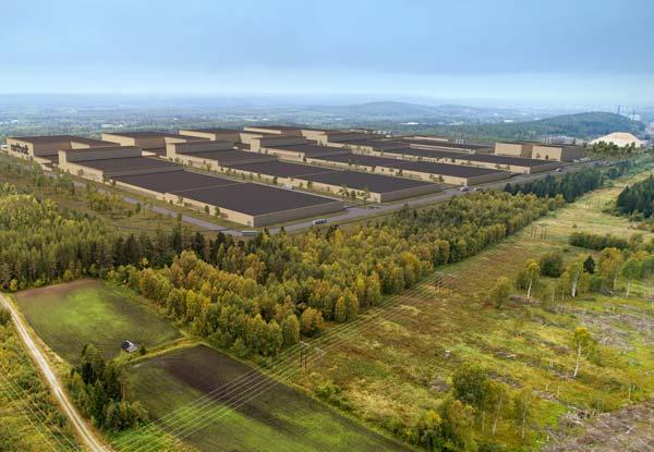 Northvolt Gigafrabrik Schweden