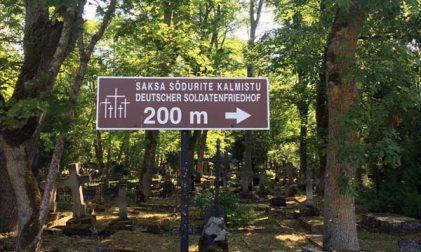 Soldatenfriedhof Saaremaa