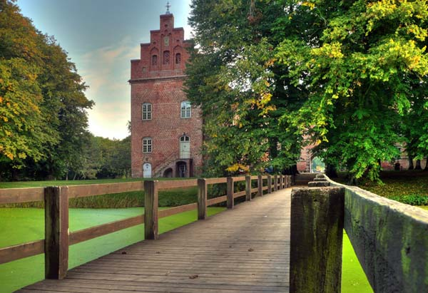 Schloss Voergaard Dänemark