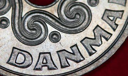 Dänische Währung Krone
