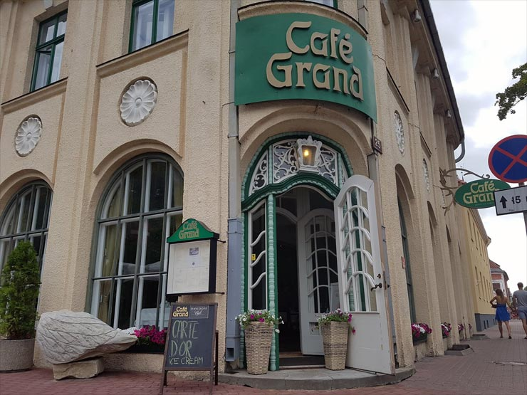 Cafe Grand im Hotel Victoria