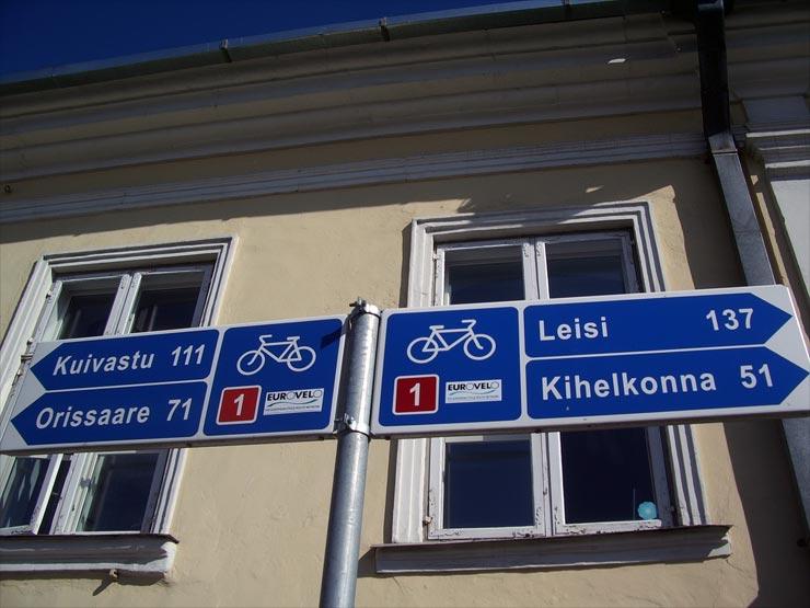 Fahrradtour Estland Eurovelo Saaremaa