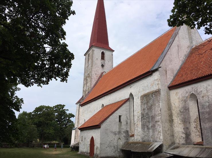 Michaeliskirche von Kihelkonna