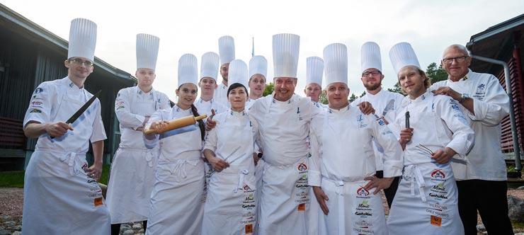 Koch-WM Kulinarik-Team Finnland