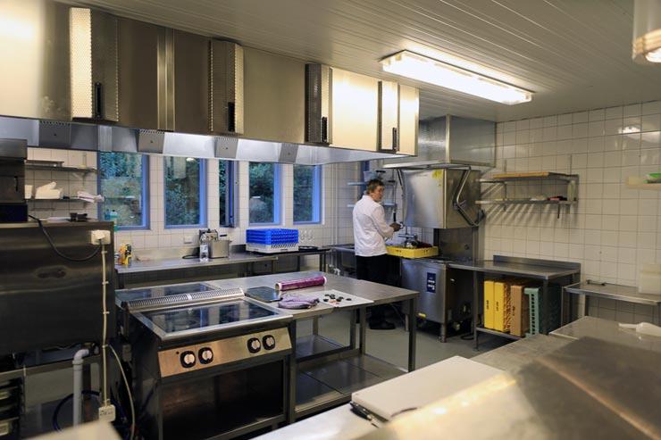 Küche Helsinki Trainingszentrum