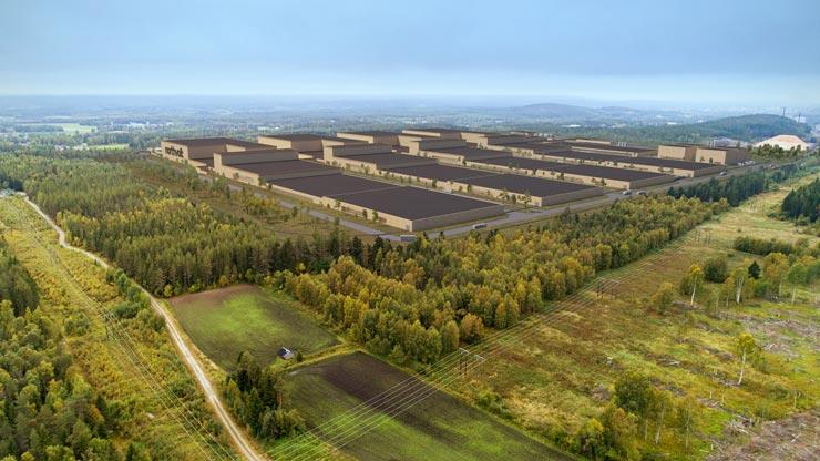 Northvolt Gigafabrik