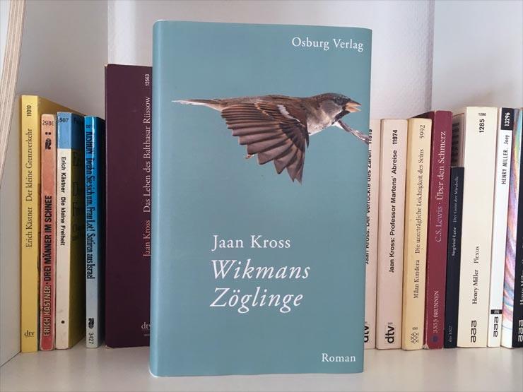 Wikmans Zöglinge Buchrezension Jaan Kross
