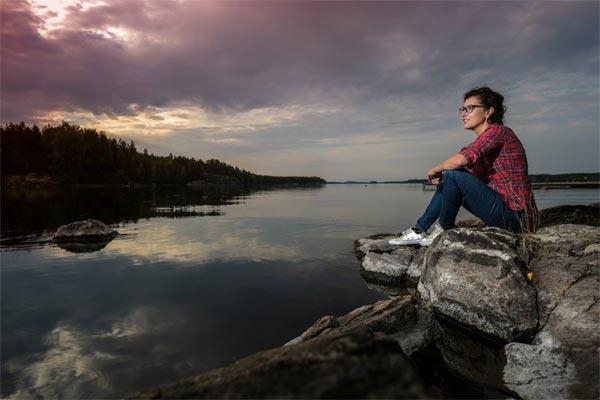 Schlimme Helena in Finnland