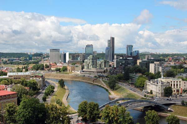 Financial Times sieht Vilnius in den Top 10 der Städte der Zukunft