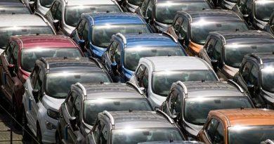 Neuwagen Verkäufe Dänemark