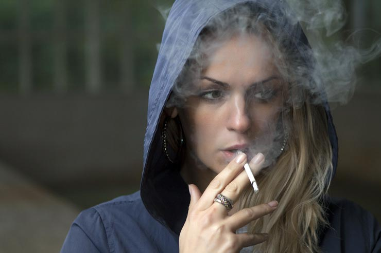 Raucher Dänemark