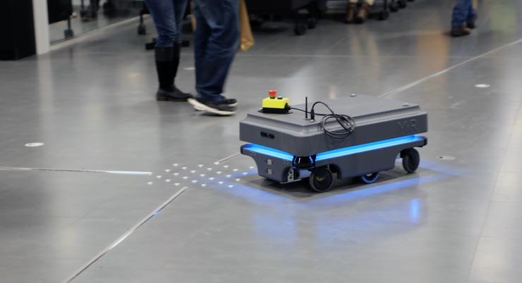 Oodi Bücher-Roboter