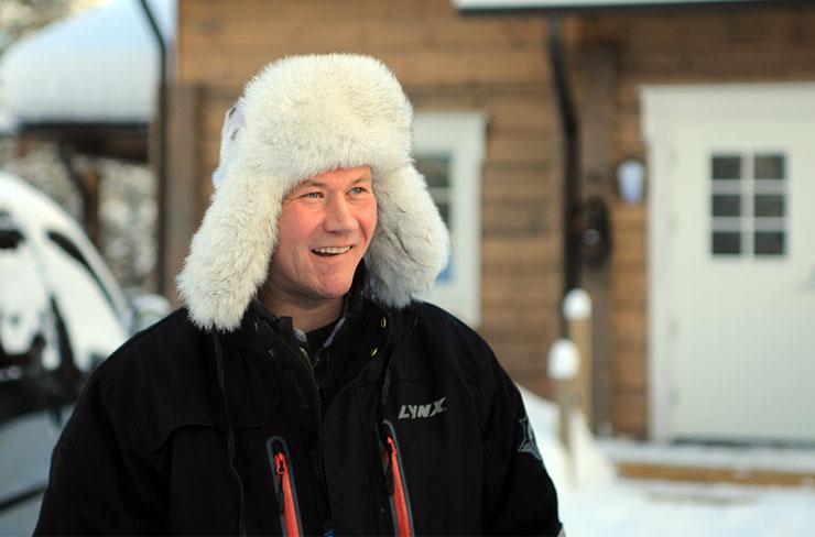 Osmo Seurujärvi Sami Rentierzüchter