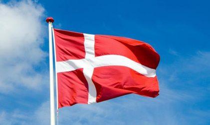Dänische Fahne Flagge