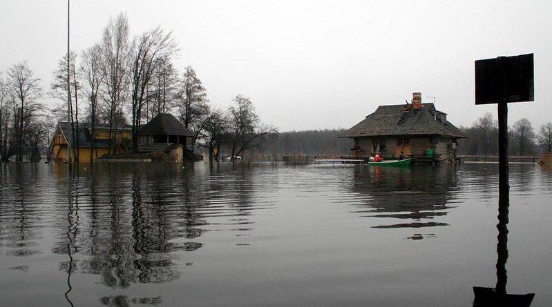 Soomaa Schmelze Überschwemmung
