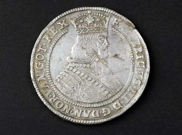 Schatzfund Silbermünzen Dänemark