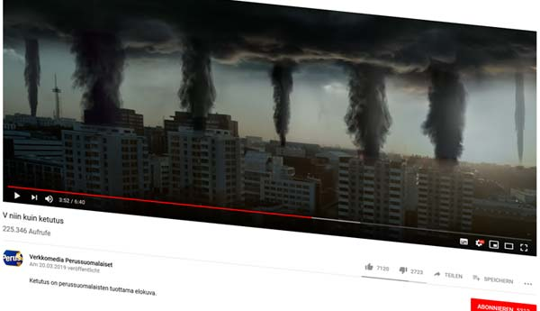 Finnkino Finnland Werbefilm